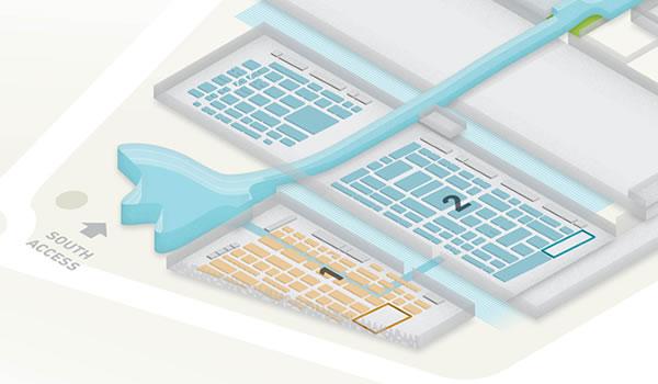 Mapa Piscina & Wellness Barcelona
