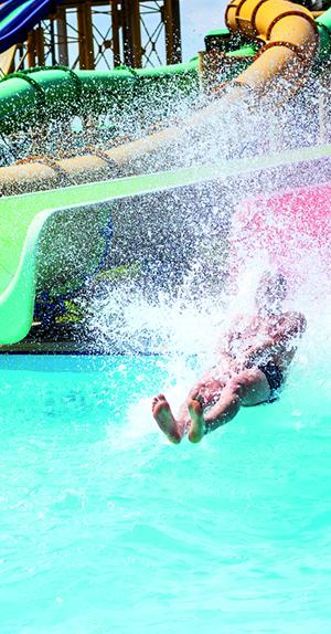 Piscina de uso público y parques acuáticos